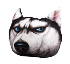 George Jimmy 3D Cartoon Head Shape Pillow Car Sofa Chair Back Cushion-Dog - $428,26 MXN