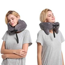 SENDI Memory Foam Travel Pillow,Good Neck Pillow with Neck,Head and Chin... - $23.28