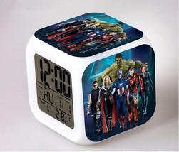 Marvel The Avengers LED Alarm Clock #24 - $23.99