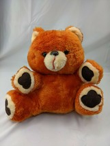 "Orange Musical Bear Plush 12"" Mty International Vintage Works Stuffed An... - $44.95"