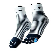 George Jimmy Beautiful Tube Toe Scoks Soft Cotton Black Socks - £11.74 GBP
