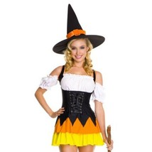 Witch Sexy Woman Uniform Halloween Stage Costumes - $30.68