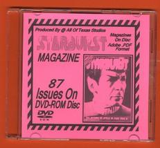 Starburst Magazine 87 Issues on DVD-ROM U.K. Movies Sci Fi Star Wars Trek - $4.99