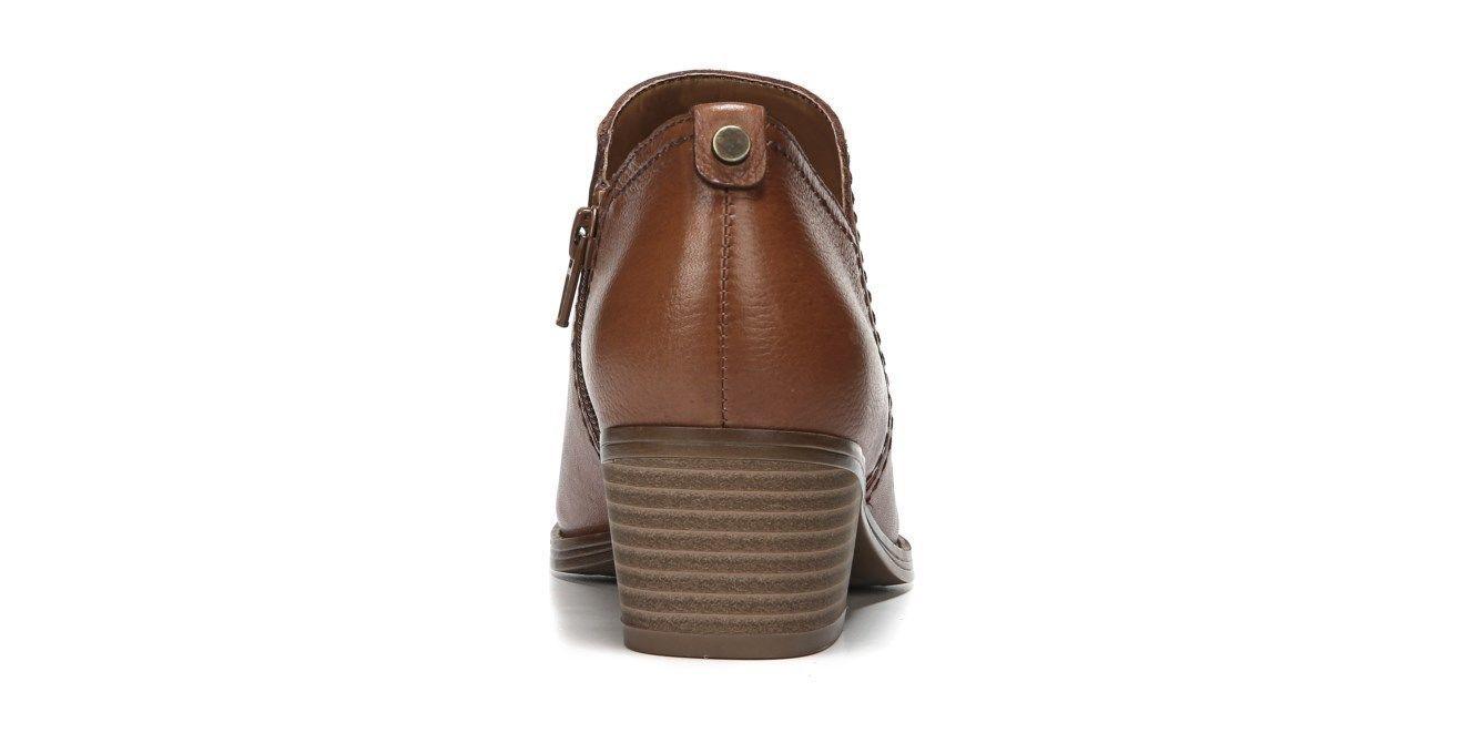 Women's Naturalizer Zarie Block Heel Saddle Tan Bootie Shootie, Size 11 N; $119