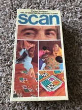 """Parker Brothers vintage game """"SCAN"""" Split second matching game - te - $5.94"""