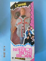 1990 NEW KIDS ON THE BLOCK DONNIE  Hangin Loose Fashion Figure Hasbro NR... - $123.75