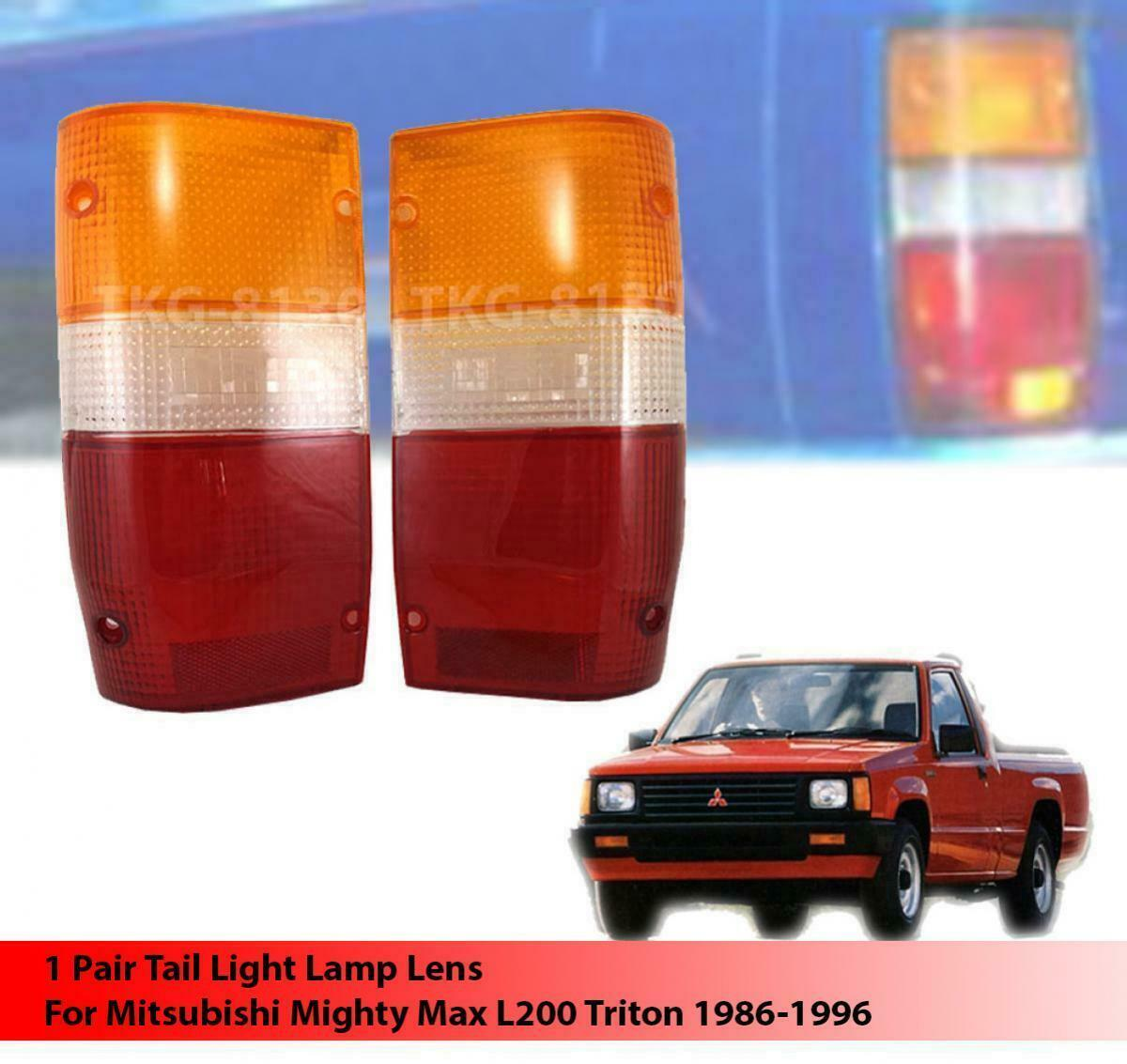 Primary image for REAR TAIL LIGHT LENS STANDARD FOR MITSUBISHI L200 Cyclone Mighty Max 1986 - 1994