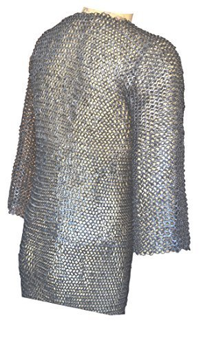 Primary image for NauticalMart Riveted Long Sleeve Hauberk ChainMail Shirt