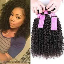 Original Queen 100% Brazilian Unprocessed Virgin Kinky Curly Human Hair Weave 3  - $41.85
