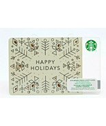 Starbucks Coffee 2014 Gift Card Happy Holidays Christmas Winter Zero Bal... - $11.60