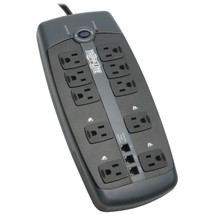 Tripp Lite TLP1008TEL 10-Outlet Surge Protector with Telephone Protection (witho - $55.93
