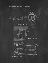 Flying Cylinder Patent Print - Chalkboard - $7.95+