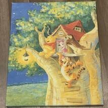 Winnie Pooh Matted Picture 16X20 Tigger Piglet Owl wall decor disney tre... - $48.15