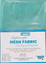 """Annie Mesh Fabric Lightweight 18""""x 54"""" Turquoise, 18"""" by 54"""" image 1"""