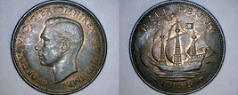 1938 Great Britain 1/2 Penny World Coin - UK - England - $5.99