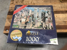 New York City Twin Towers 2001 Commemorative Edition 1000 Piece Perfalock Puzzle - $17.50