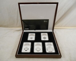 RARE 2015 5pc Premium Britannia Silver Proof Set ( First Release ) COA - $489.99