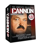 Cannon//The Complete Collection/5 Seasons ,122 Episodes - $33.83
