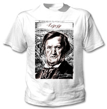 Richard Wagner German Composer - New Cotton White Tshirt - $24.48