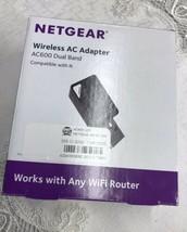 NETGEAR AC600 Wireless N AC USB Network Adapter - Dual Band 5Ghz / 2.4 GH - $24.70