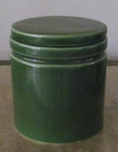 Furio Home Handmade Ceramic Green Pottery Storage Container Canister - M... - $14.99