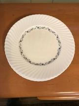 Set of 6 Royal Worcester PETITE FLEUR Swirl Dinner Plates  - $49.99
