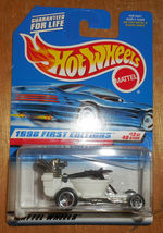 "Hot Wheels Mattel Wheels 1998 1st Editions 13 of 40 Cars ""Hot Seat"" New - $2.50"