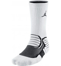 JORDAN Nike Jumpman Advance Dri-Fit Socks Size L 8-12 NEW 642209-103 - $14.84