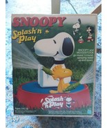 Peanuts Snoopy Splash'n Play Sprinkler With Woodstock - $76.00
