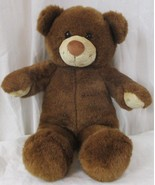 Teddy Bear Build A Bear Bear Dark Brown Stuffed  Kids Toys boys girls - $11.87