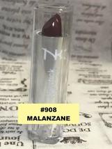 NICKA K NEW YORK NK LIPSTICK #908 MALANZANE  SEMI MATTE FINISH - $1.48