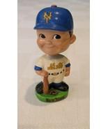New York METS w/ Decal Vintage Nodder Green Base Bobblehead Bobbing Bobb... - $113.85