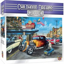 Childhood Dreams Hot Rods and Milkshakes 1000 pc Puzzle Masterpieces #71811 - $29.99