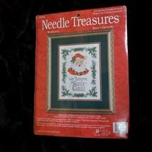 Needle Treasures We Believe Santa Claus Counted Cross Stitch Kit 08546 NEW - $23.35