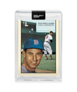 Topps PROJECT 2020 Card 90 - 1954 Ted Williams by Oldmanalan - $34.64