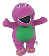 Barney Plush Dinosaur 125552 13 inch Purple Stuffed Animal Toy 2006 - $7.25