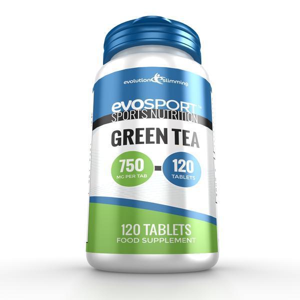 EvoSport Green Tea 750mg 120 Tablets - $12.99