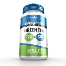 EvoSport Green Tea 750mg 120 Tablets - $12.99