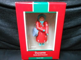 "Hallmark Keepsake ""Daughter"" 1989 Ornament NEW - $3.17"