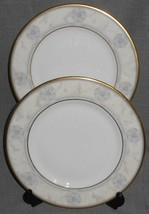 Set (2) 1997 Royal Doulton NAPLES PATTERN Salad Plates MADE IN ENGLAND - $39.59