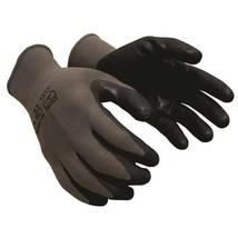 TruForce™ Nitrile Coated Nylon Work Gloves [CE 4131] Gray/Black [1 pair] - $6.99