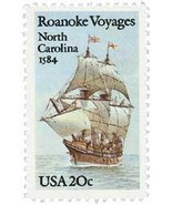 1984 20c Roanoke Voyages, North Carolina Scott 2093 Mint F/VF NH - €0,88 EUR