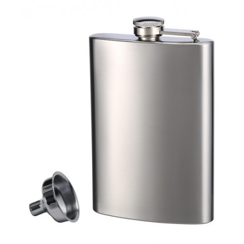 Stainless Steel Flask and Funnel made by Top Shelf Flasks™ - $8.45