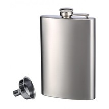 Stainless Steel Flask and Funnel made by Top Shelf Flasks™ - €7,39 EUR