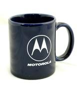 Motorola Cobalt Blue Coffee Cup Mug Tea Cell Phone 10 oz - $22.99