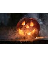Digital Art Smoking Pumpkin Design - $0.99