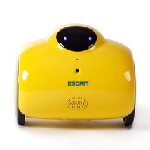 ESCAM Robot QN02 720P Robot Video Camera Kid Elder Companion Support 2-w... - $471.07