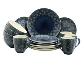 Elama Kali 16-Piece Dinnerware Set - $87.07