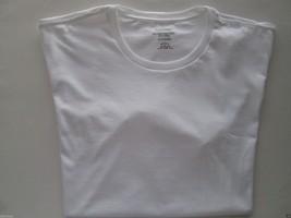 Calvin Klein FID H88 Solid Crewneck Short SLV Men T-Shirt White L $17.75 UPC30 - $7.14