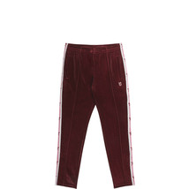 Converse x Miley Cyrus Womens Velvet Tracksuit Bottoms Dark Burgundy Siz... - $30.58